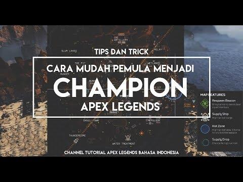 Tutorial Pemula - Tips dan Trick cara Mudah Pemula menjadi Champion Apex Legends d[bahasa Indonesia]