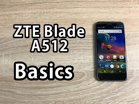 ZTE Blade A512 Basics