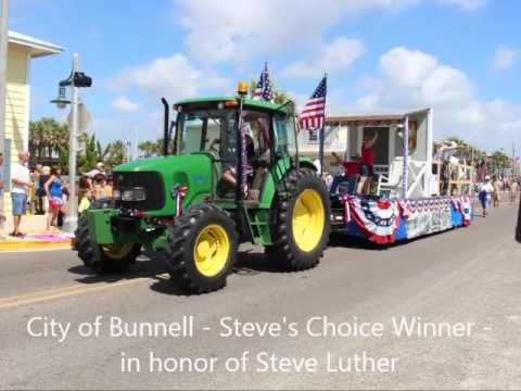 Flagler Beach Fabulous Fourth Parade July 4th, 2016