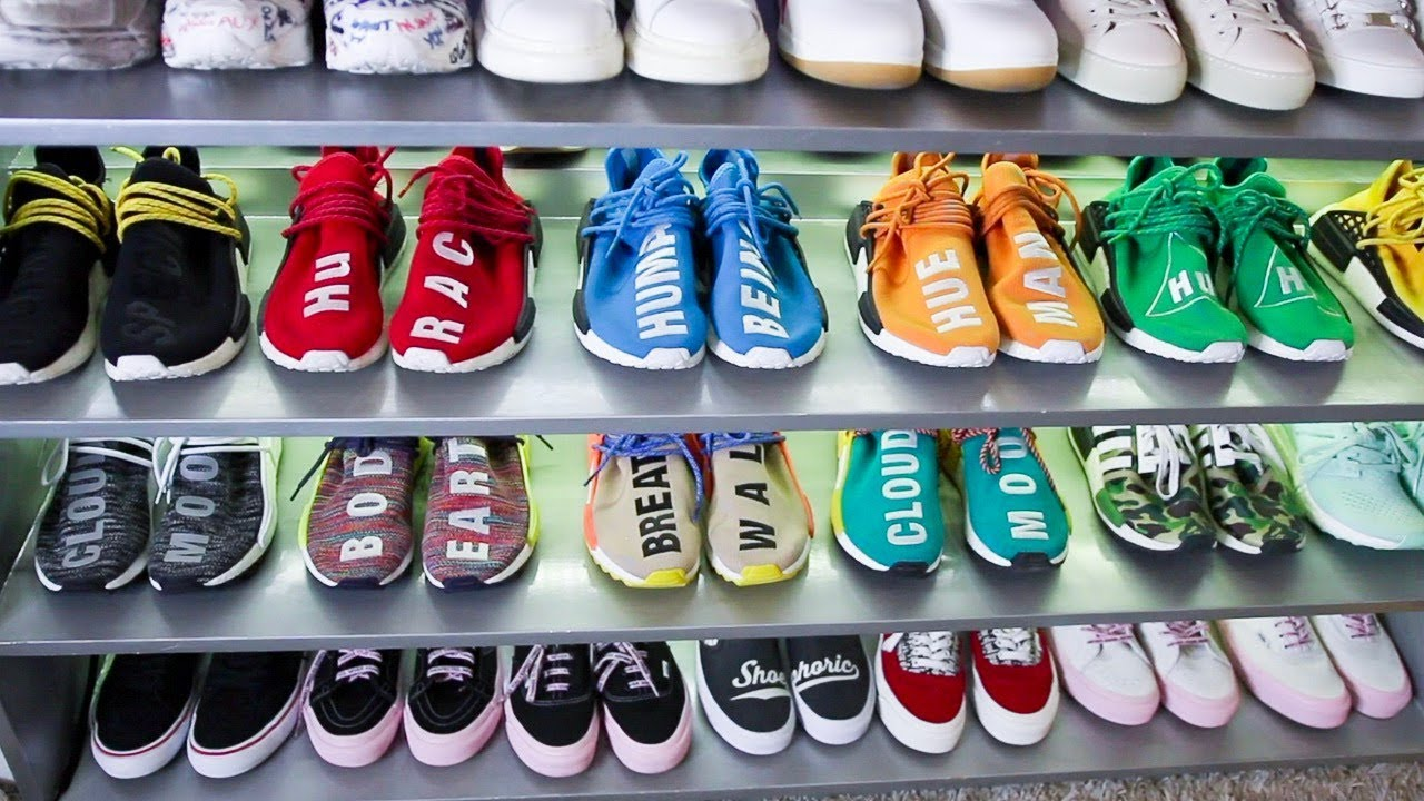 a036ab3b3e9f Insane Sneaker Closet Tour  Shoephoric - YouTube