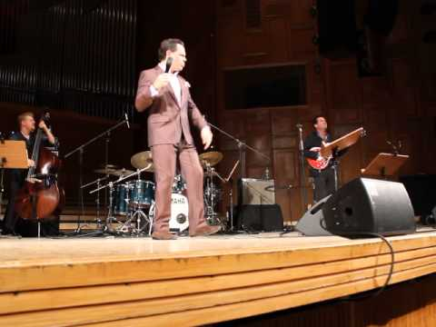 Kurt Elling in Sala Radio, Bucharest