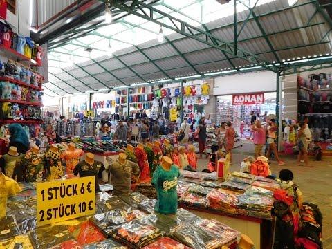 Manavgat Market Turkey August 2016