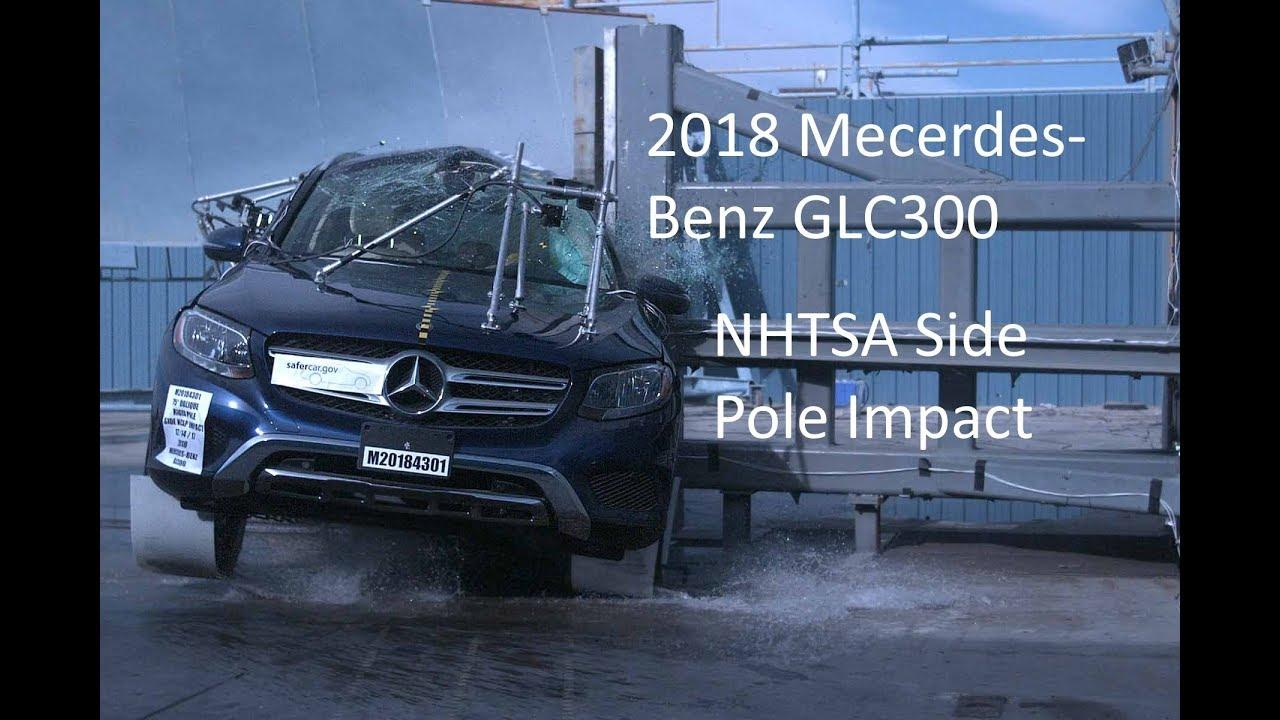2018 2019 mercedes benz glc300 glc43 glc63 nhtsa side pole. Black Bedroom Furniture Sets. Home Design Ideas