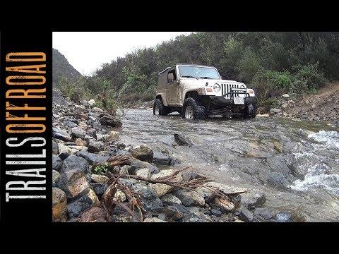 Trabuco Canyon (Holy Jim Canyon) 4x4 Trail - Orange County, California