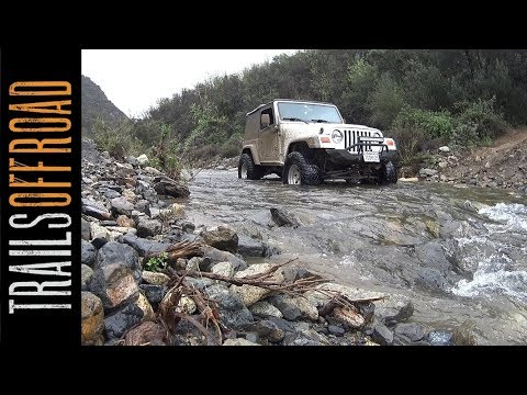 Trabuco Canyon (Holy Jim Canyon) 4x4 Trail - Orange County, California