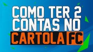 COMO TER MAIS DE UMA CONTA NO CARTOLA FC