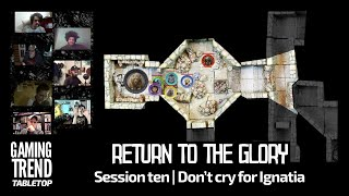 Return to the Glory Session 10: Don't cry for Ignatia