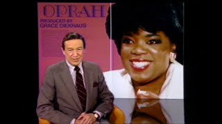 Oprah's breakout interview on 60 Minutes