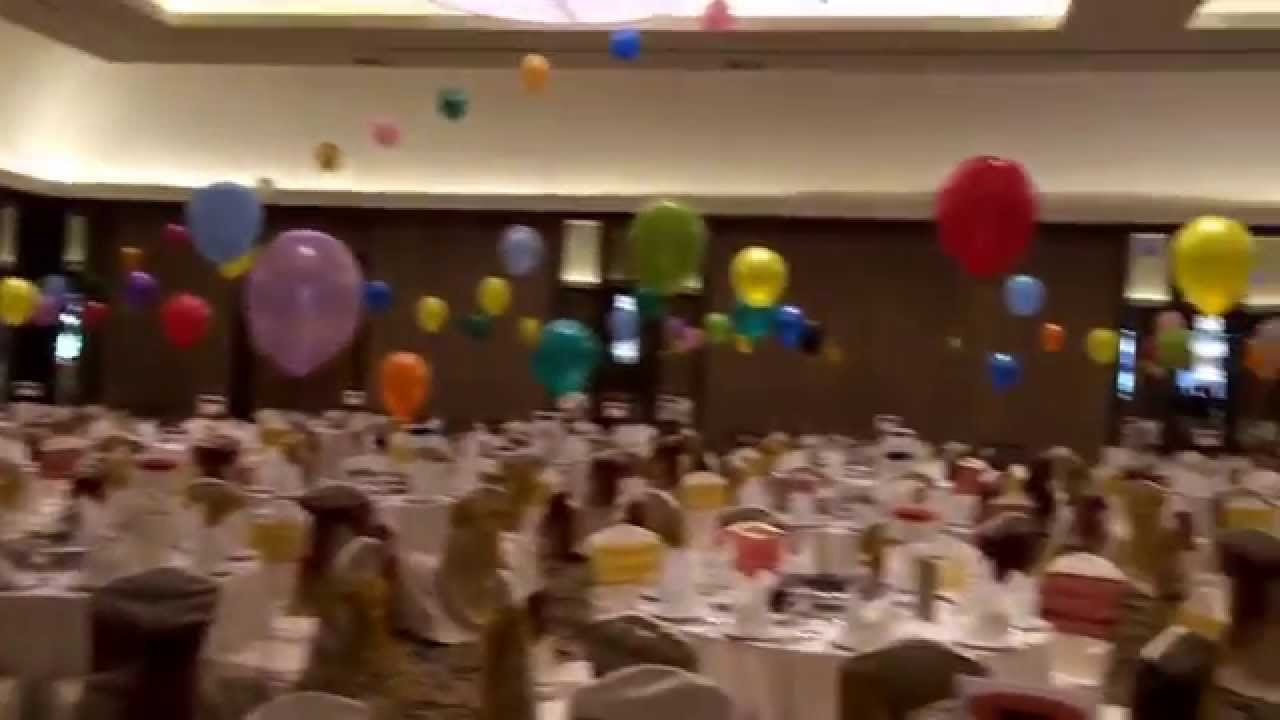 Balloon decoration for hotelbirthday partydinnerhelium balloon kl