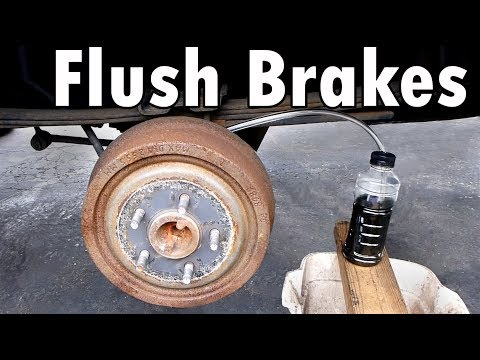how to bleed your brakes chevy silverado sierra flushing the brake system with new fluid very. Black Bedroom Furniture Sets. Home Design Ideas