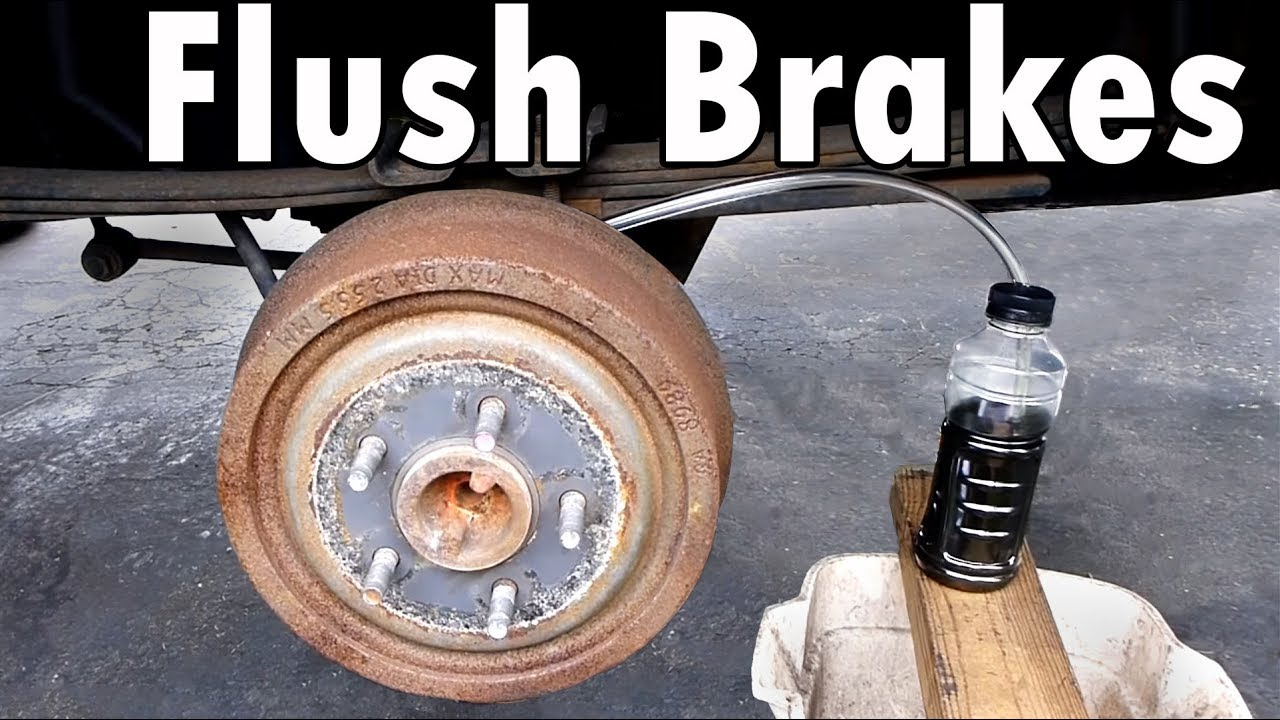 How to do a Complete Brake Flush and Bleed  YouTube