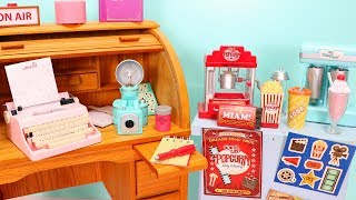 American Girl Doll Camera and Popcorn Machine! OG Retro Sets Unboxing & Review