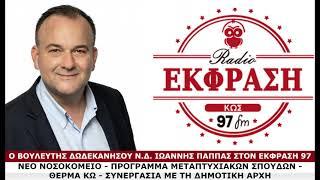 23/02/21: Ιωάννης Παππάς (Βουλευτής ΝΔ Δωδεκανήσου)