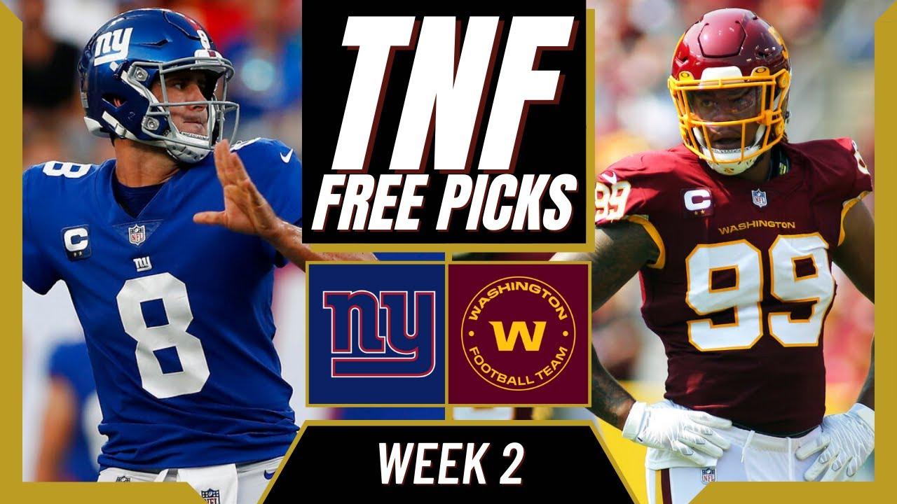 Giants vs. Washington odds, line, spread: Thursday Night Football ...