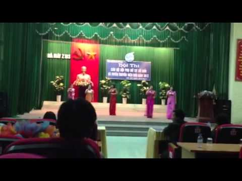 Hội thi cán bộ phụ nữ cơ sở giỏi và tuyên truyền giỏi năm 2
