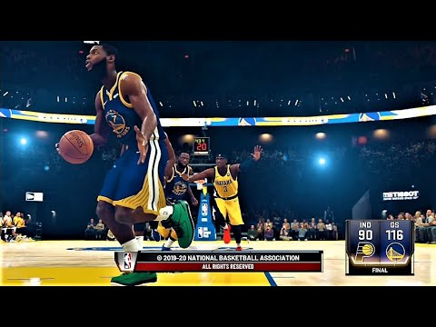 Pacers vs Warriors 1.24.20 #NBA2K20 #PS4 #2KALLDAY - YouTube