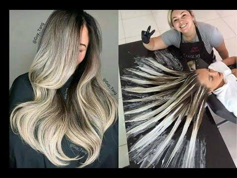 Tendencia En Cabello Color Gris Plateado Grey Hair