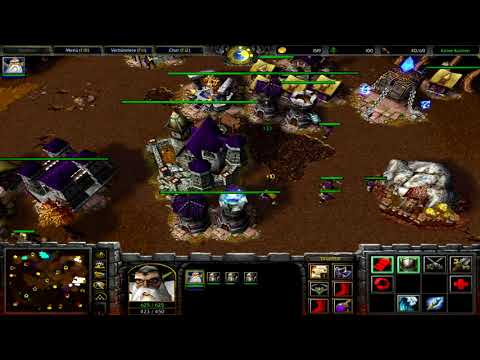 Warcraft 3 RT #049 (2v2) Human - Undead vs Human - Nightelf [Deutsch/German] WC 3 TFT by DPoR LP