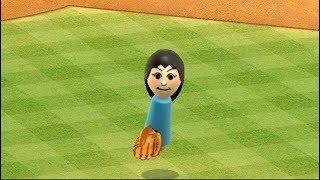 最強キャラ出現! wii sports 野球