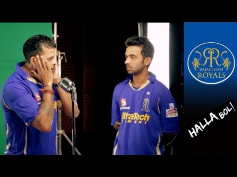 RAHANE AND TAIT ON THE MIC: Royals on song for Kingfisher Ad