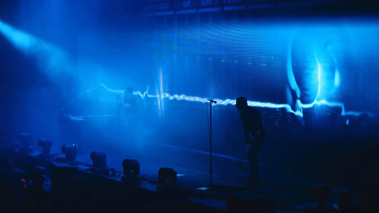 Nine Inch Nails - Europe 2014 - Beside You In Time (Live in Antwerp ...