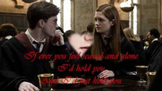 Love you forever - Ryan Huston (Harry and Ginny) lyrics