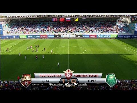 ЦСКА Терек смотреть онлайн прямая трансляция 13 08 2014
