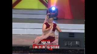 One Leg Dancer Neelam Dhungana performing at 5th Bindabasini Music Award 2071