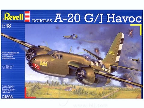 Revell 1/48 A-20 Havoc (Part 1)
