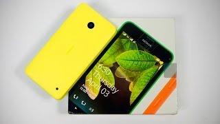 Nokia Lumia 630 Dual Sim - Unboxing & Hands On