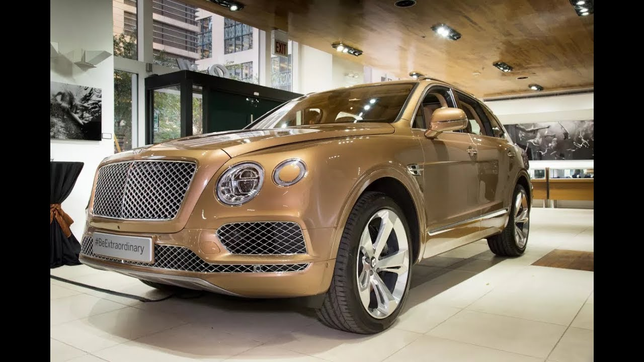 The First Drive 2019 Bentley Bentayga V8 Youtube
