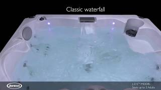 J 215™ Classic 3 Person Hot Tub with Lounge Seat