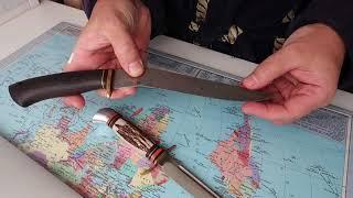 Хрустальные ножи из стали высокой твёрдости более 60-61 HRC