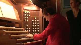 Vaucher / Righetti - changement d'organiste à Saint-François, Lausanne - sujet RTS