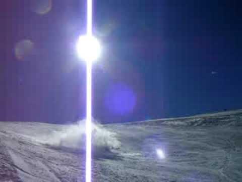 Justin Snow Skiing Big Jump