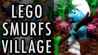 Huge LEGO Smurfs Village | Brickworld Chicago 2016