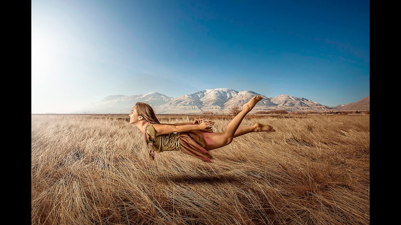 levitating girl wallpaper - photo #43