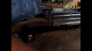 part 1 of custom peterbilt dump truck build