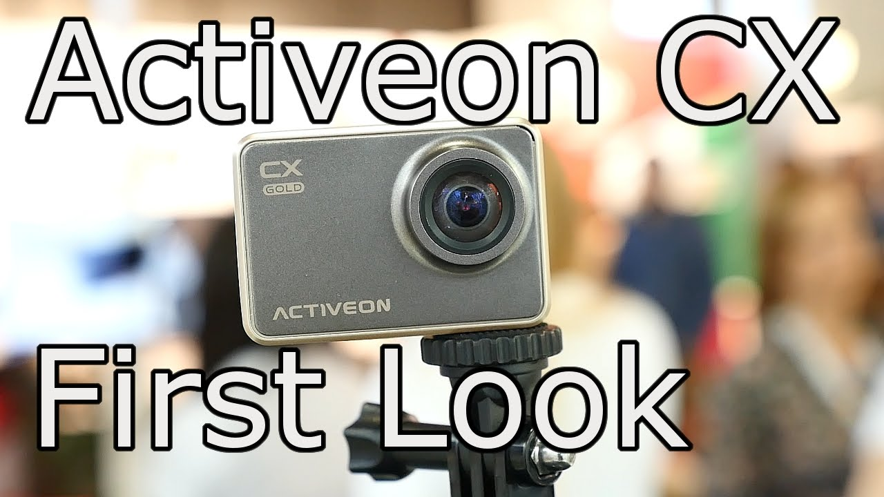 Activeon Cx First Look Interview Ifa 2015 Another Gopro Killer Youtube