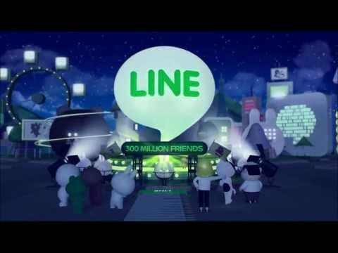 LINE messenger 300 million user