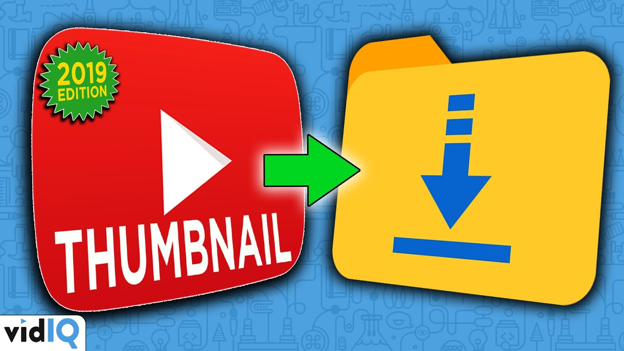 How to Download a YouTube Thumbnail 2019 (New Method)
