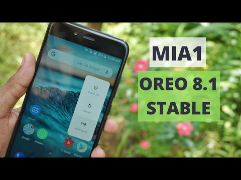 MiA1 Oreo 8.1 Update | What's New | Full features Overview
