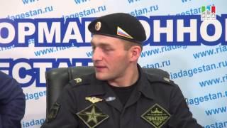 Пресс-конференция с победителем первого чемпионата по танковому биатлону Маратом Халиковым