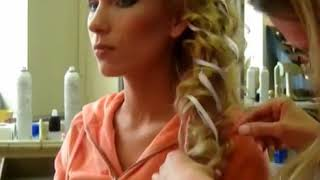 Смотреть видео что делает невеста в первую очередь прическу или макияж