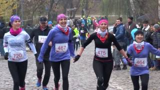 Bieg Niepodległości 2016 w Kielcach - Meta na ulicy Zamkowej 13.11.2016