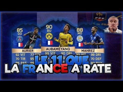 LE 11 QUE L'EQUIPE DE FRANCE A RATÉ !