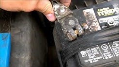 Replacing Battery Terminal Connectors Toyota Avalon