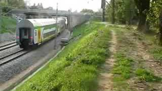 EU07-197 + Push-Pull Bombardier