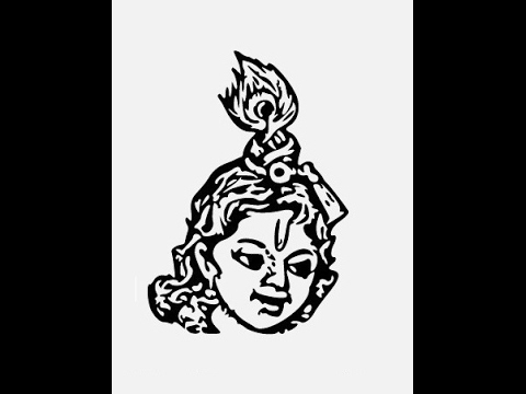 How To Draw Baby Lord Krishna Face Step By Step