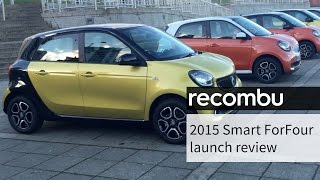 Smart ForFour behind the scenes launch review